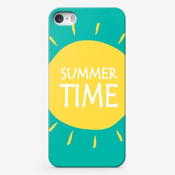 Чехол iPhone «Лето Summertime»