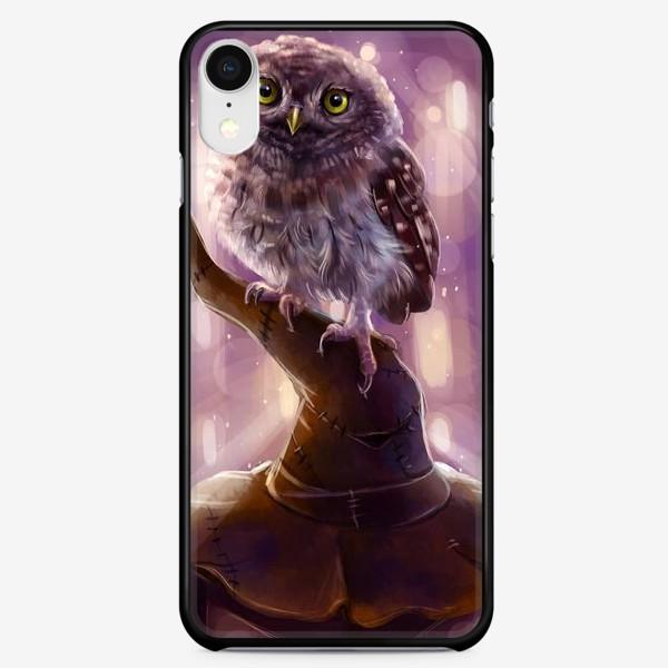 Чехол iPhone «Сова и волшебная шляпа»