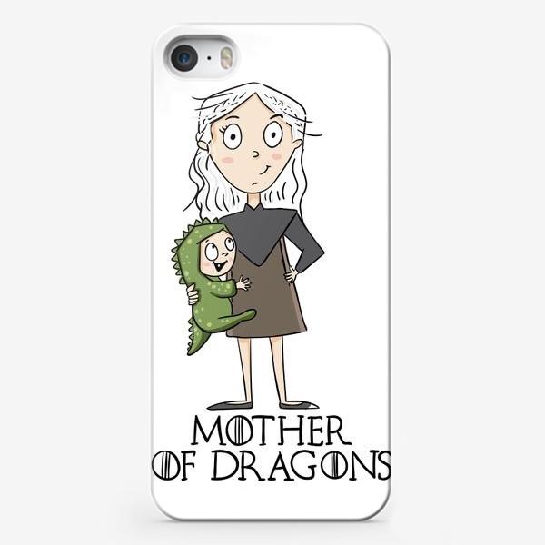 Чехол iPhone «Мать матерь дракона»