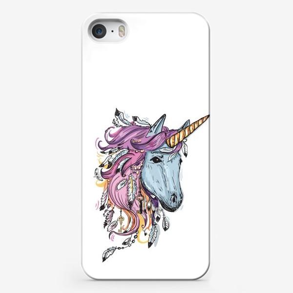 Чехол iPhone «Сказочный Единорог»