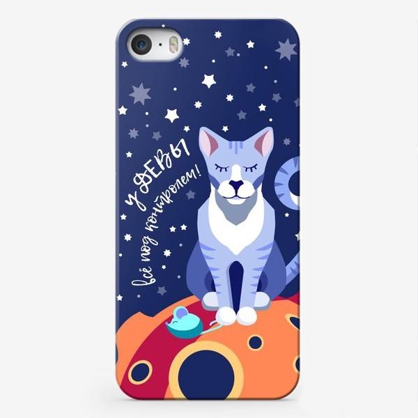 Чехол iPhone «Подарок для ДЕВЫ»