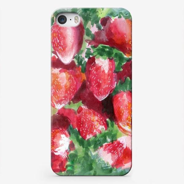 Чехол iPhone «Вкусная клубника»