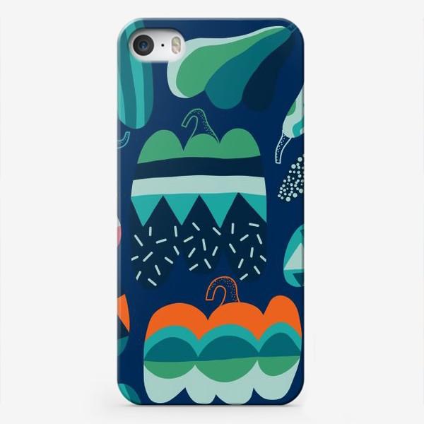 Чехол iPhone «Pumpkins. Тыквы.»