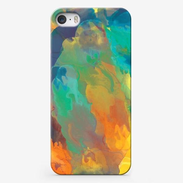 Чехол iPhone «Осенняя Абстракция»