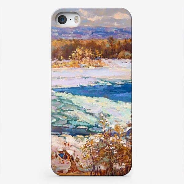 Чехол iPhone «Лёд тронулся»