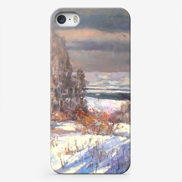 Чехол iPhone «Зима будет снежной»