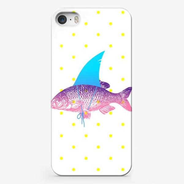 Чехол iPhone «рыба с акульим плавником. Хышник. »