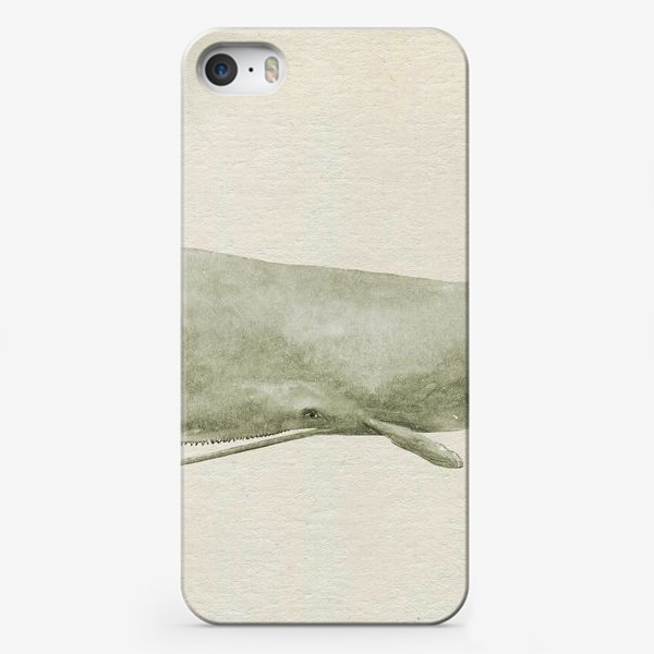Чехол iPhone «Кит Сепия»