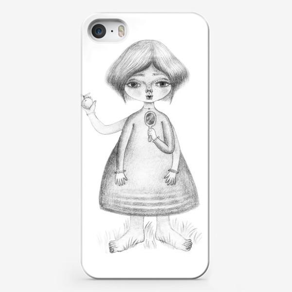 Чехол iPhone «Девочка-Троль»