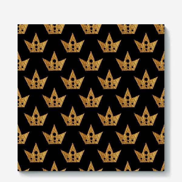 Холст «Золотые короны»