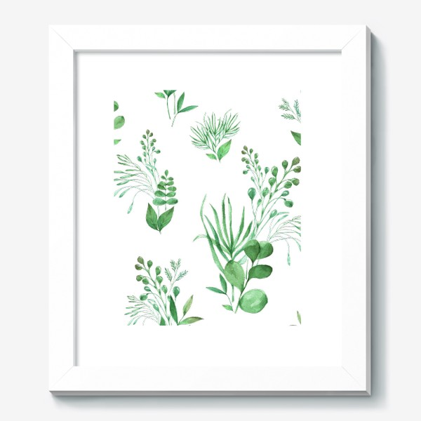 Картина «Зеленые травы»