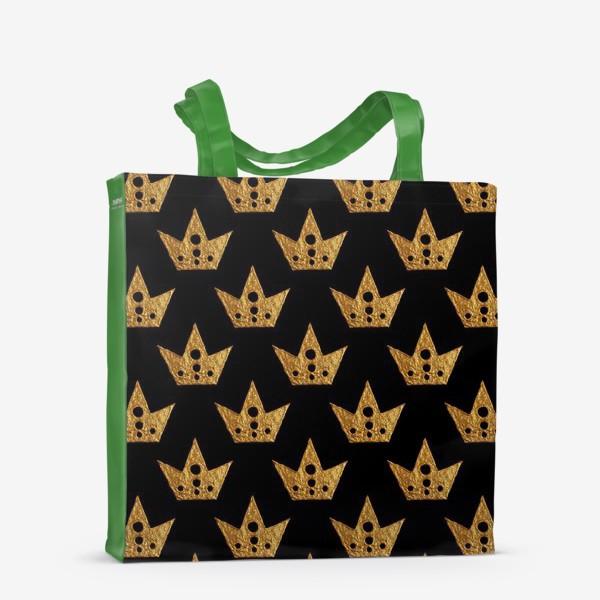 Сумка-шоппер «Золотые короны»