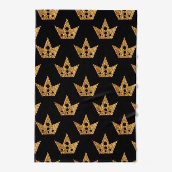 Полотенце «Золотые короны»