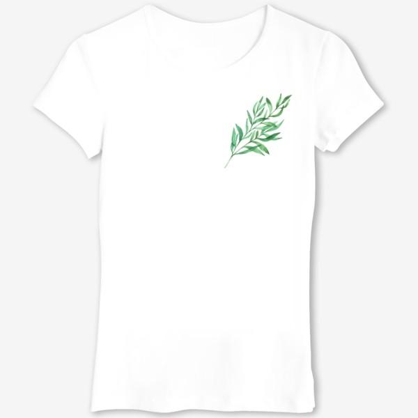 Футболка «Зеленая ветвь »
