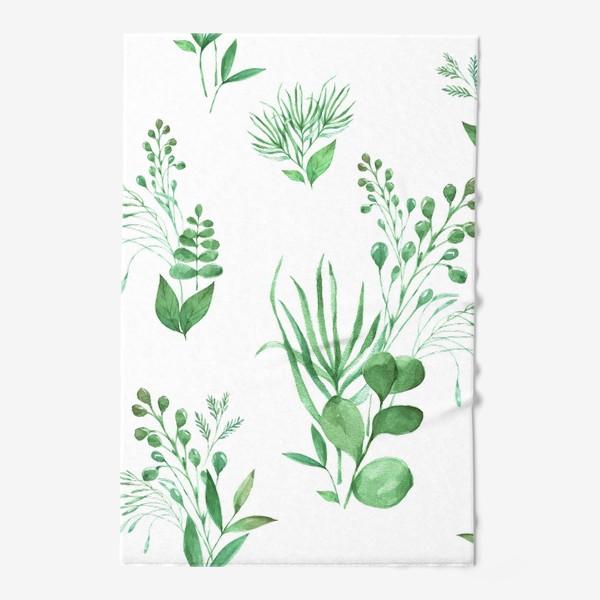 Полотенце «Зеленые травы»