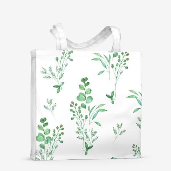 Сумка-шоппер «Зеленые травы»