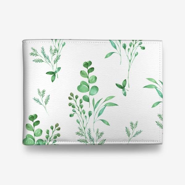 Кошелек «Зеленые травы»