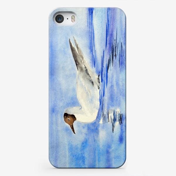 Чехол iPhone «Чайка на воде»