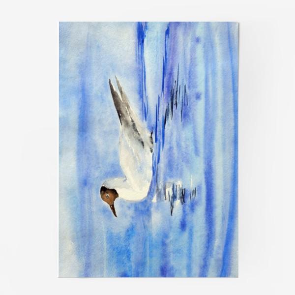 Постер «Чайка на воде»