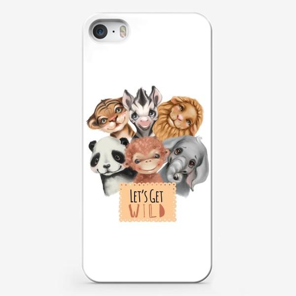 Чехол iPhone «Лесные жители»