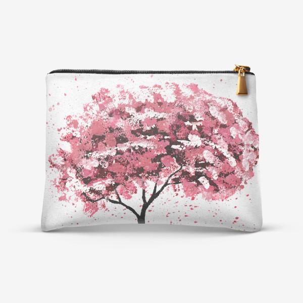 Косметичка «Дерево сакуры»