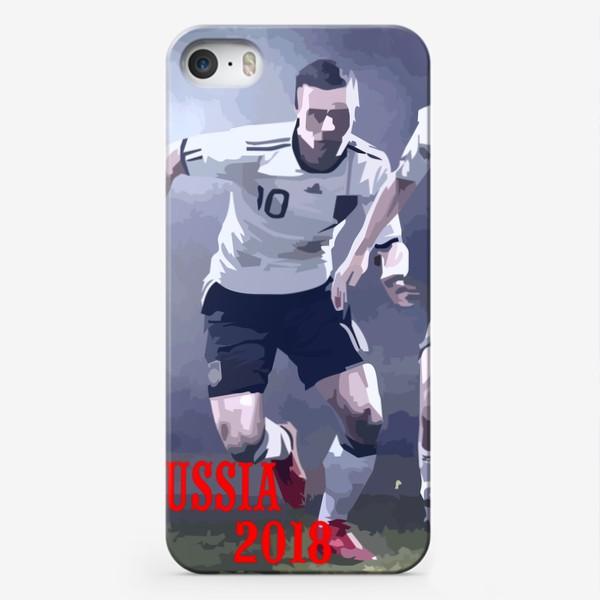 Чехол iPhone «Футбол 2018»