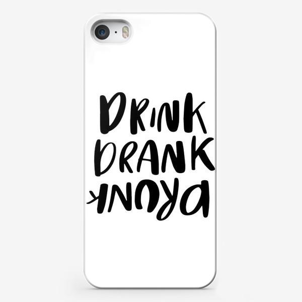 Чехол iPhone «Drink»