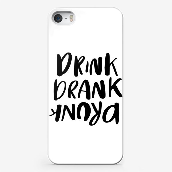 Чехол iPhone «Drink»