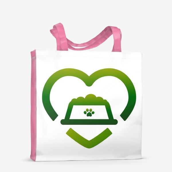 Сумка-шоппер «Логотип_ #ОставайтесьСытыми»