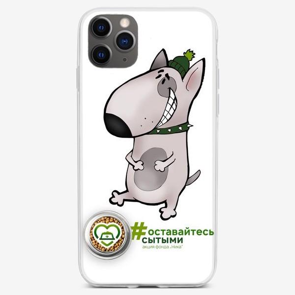 Чехол iPhone «Бультерьер»