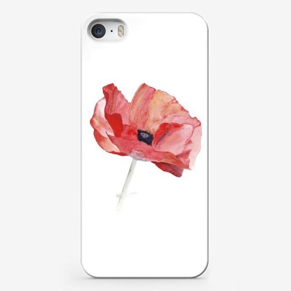 Чехол iPhone «Маки. Красный снова в моде.»