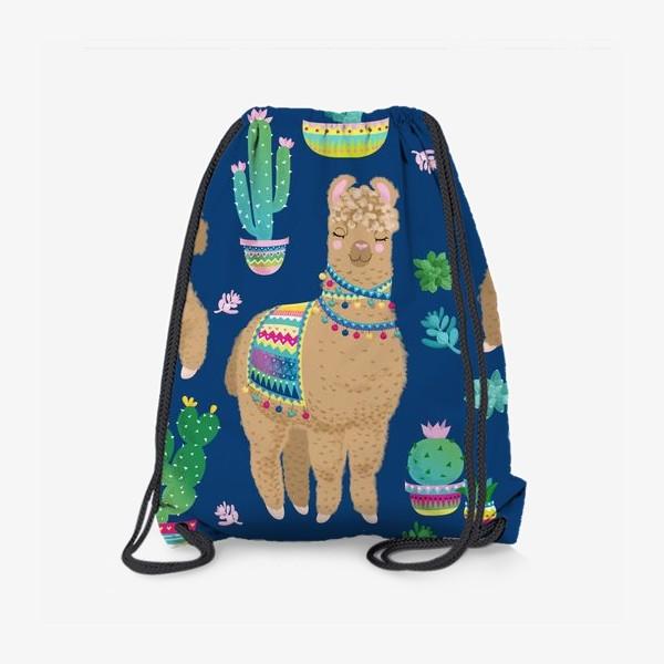 Рюкзак «Пушистые ламы»