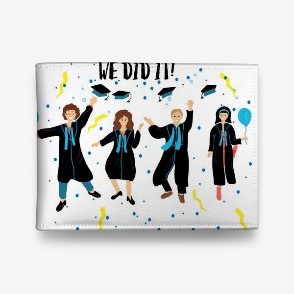 Кошелек «We did it! Выпускники 2020»