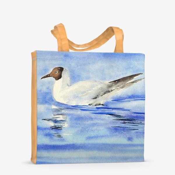 Сумка-шоппер «Чайка на воде»