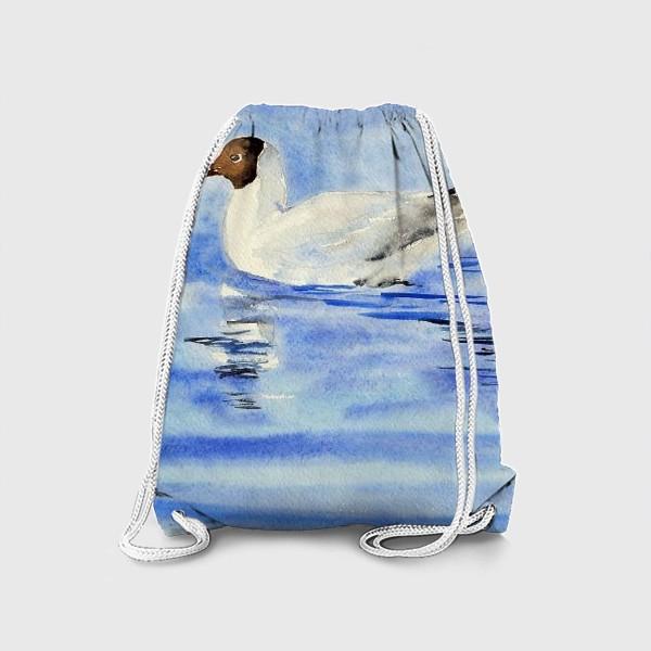 Рюкзак «Чайка на воде»