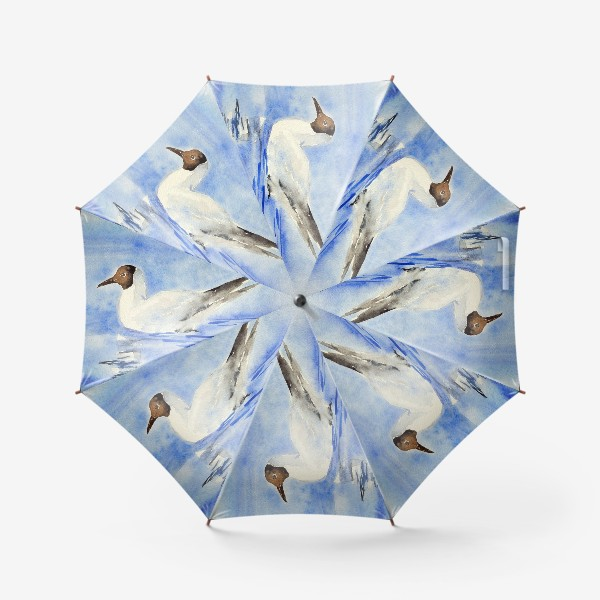 Зонт «Чайка на воде»