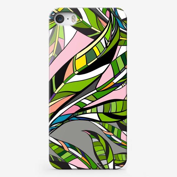 Чехол iPhone «Листья яркие»