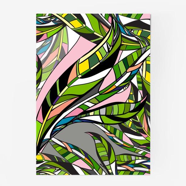 Постер «Листья яркие»