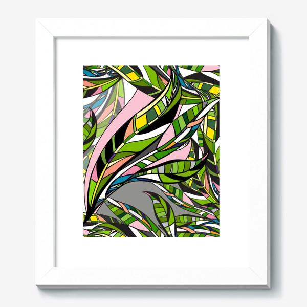 Картина «Листья яркие»