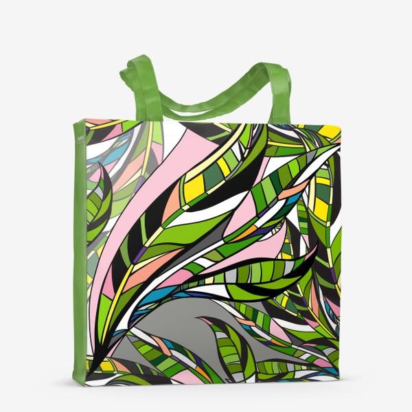 Сумка-шоппер «Листья яркие»