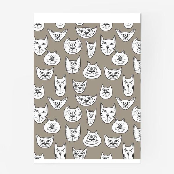 Постер «Кофейные коты»