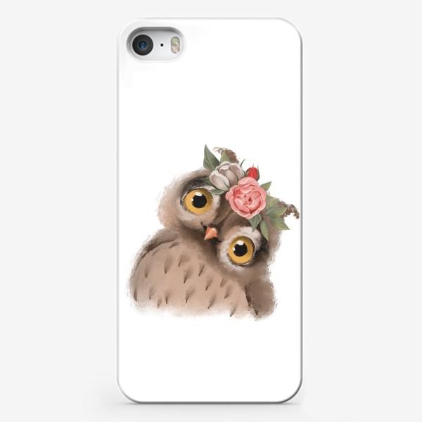 Чехол iPhone «Сова милашка»