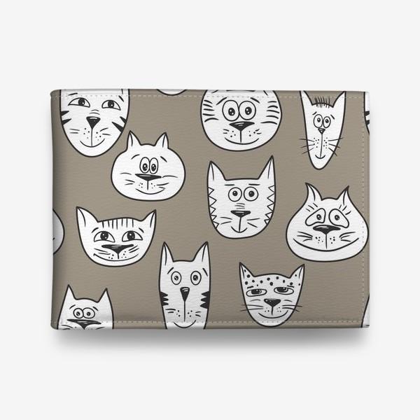 Кошелек «Кофейные коты»