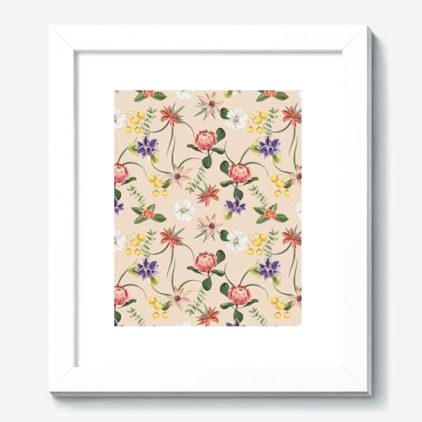 Картина «Цветочный паттерн»