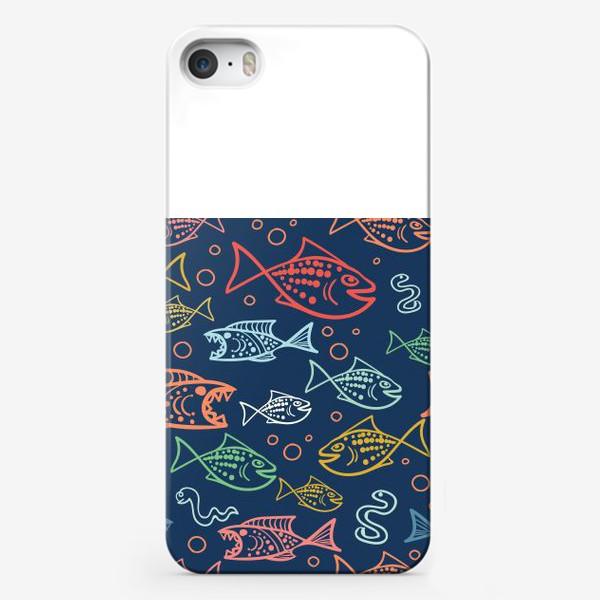 Чехол iPhone «Рыбий Мир»