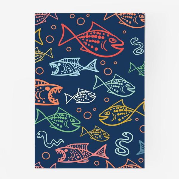 Постер «Рыбий Мир»