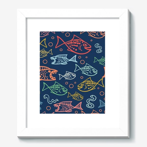 Картина «Рыбий Мир»
