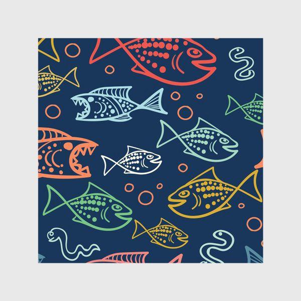 Шторы «Рыбий Мир»