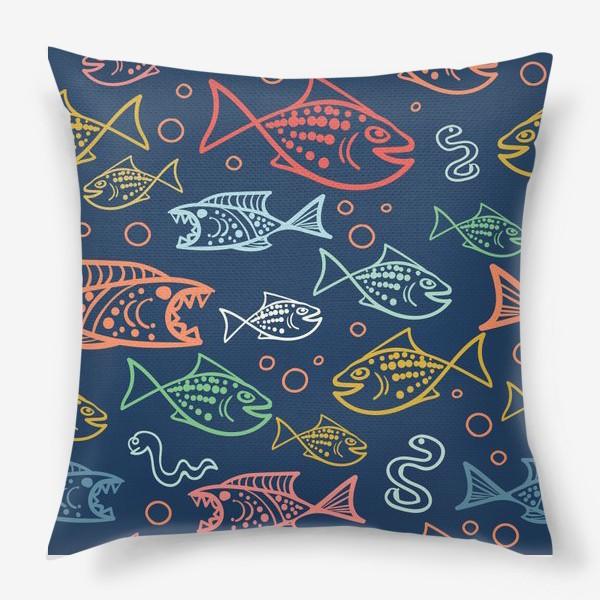 Подушка «Рыбий Мир»