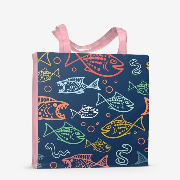 Сумка-шоппер «Рыбий Мир»